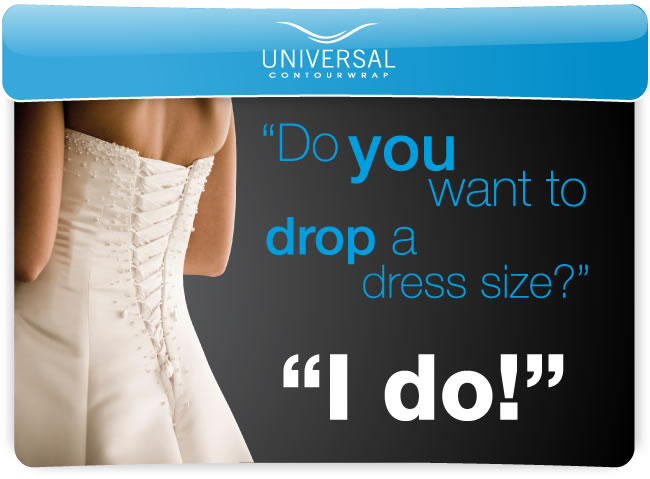 Lose inches for the big day